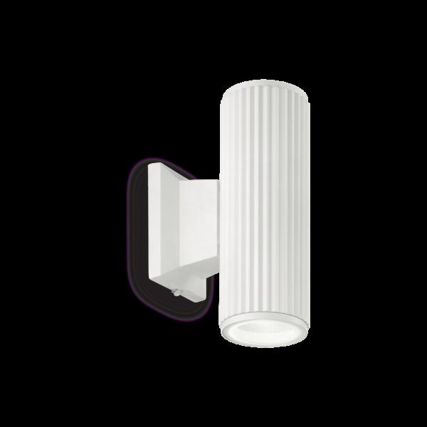 applique esterno base ideal lux bianco