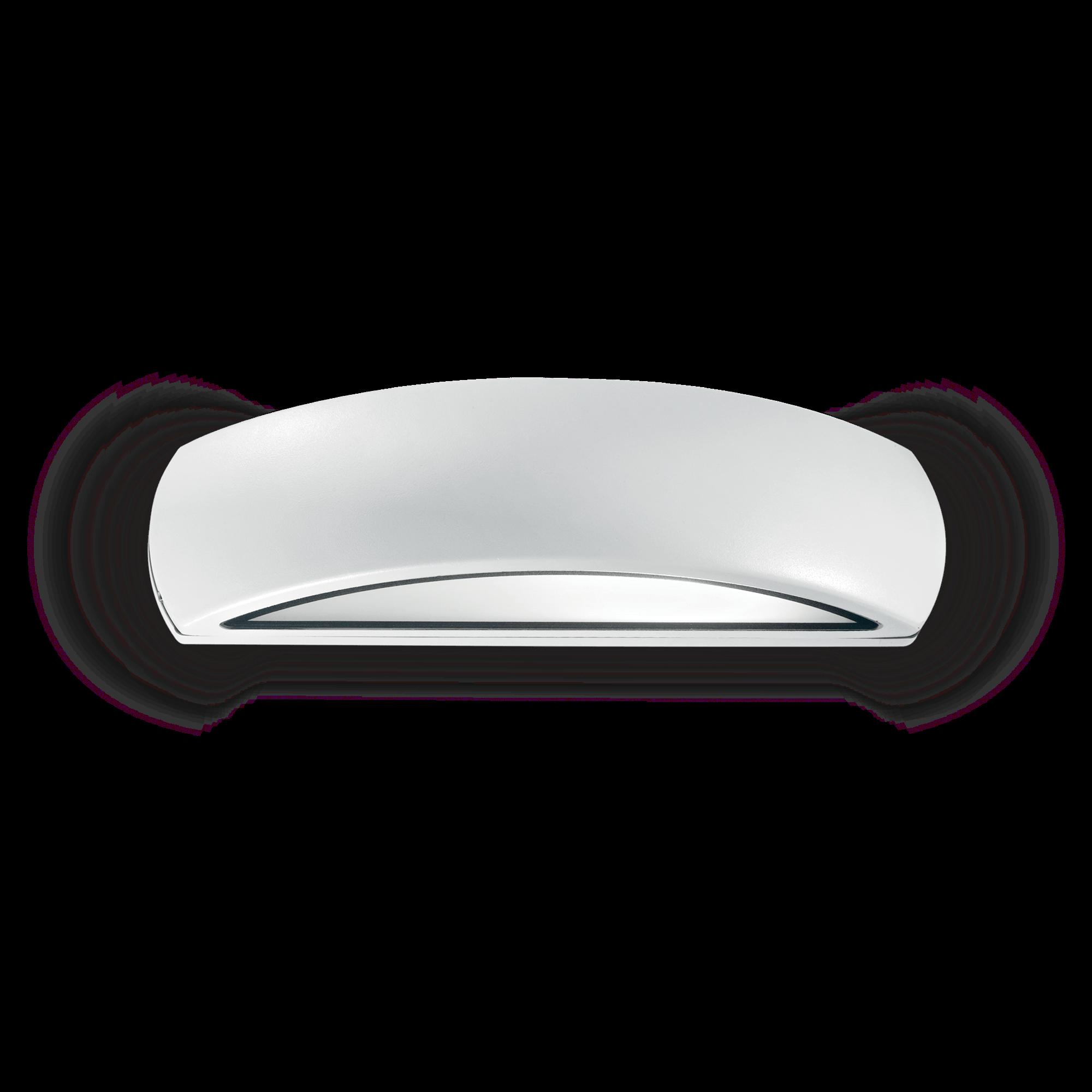 applique esterno giove ideal lux bianco