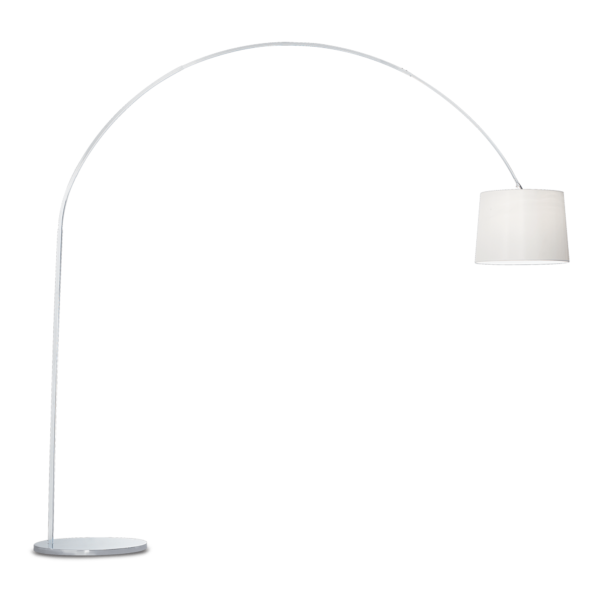 lampada da terra dorsale bianco