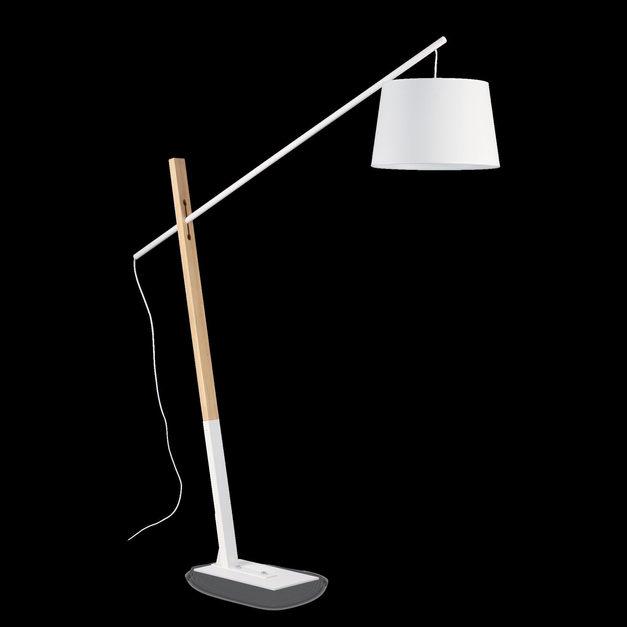 lampada da terra eminent ideal lux bianco
